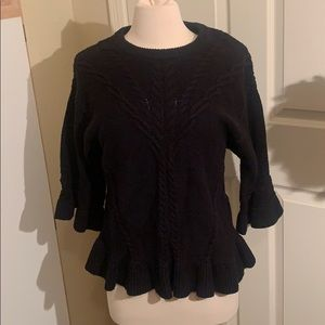 Kate Spade Cableknit Pullover Sweater